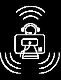 comunicaciones logo blanco